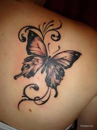 Butterflies Tattoos On - best 25 front shoulder tattoos ideas on