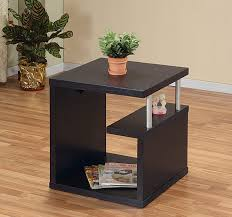 amazon com iohomes level end table espresso kitchen dining