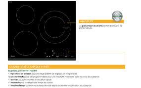 Cdiscount Table De Cuisson Gaz by Sauter Sti864b Table De Cuisson à Induction 3 Zones Achat