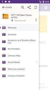 east carolina university guide android apps on google play
