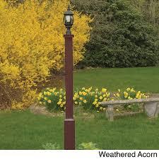 highwood eco friendly marine grade synthetic wood brockton lamp