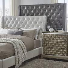 tall white leather headboard crystal tufted bed headboard bedroom set luxury purple ideas with