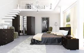 White Walls Dark Furniture Bedroom Bedroom How To Decorate A Mesmerizing Black And White Bedroom