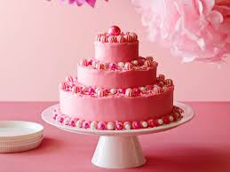 Cream Cheese Frosting Ina Garten by Have A Look At Birthday Cake With Pink Butter Icing It U0027s So