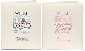 personalised photo albums personalised baby albums keepsake boxes photo frames by bundles