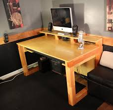 Home Music Studio Ideas by Home Recording Studio Desk Plan Cool Music Post Uncategorized