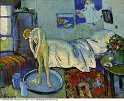 la chambre bleue picasso la chambre bleue le tub 1901 pablo picasso painting