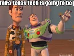 Texas Tech Memes - meme maker mira texas tech is going to be pulling the horns down