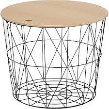 table bout de canapé bout de canapé en métal vert h41cm gossa meubles salon