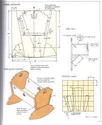wood work baby cradle plans pdf plans