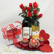 gifts delivered cupcakes valentines day gift basket maryland gift baskets