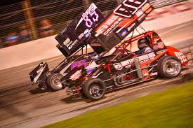 sprint cars shine at showtime speedway rod network
