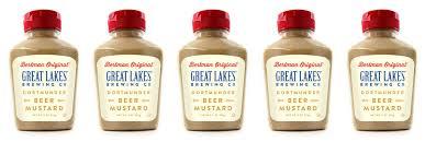 stadium mustard great lakes collaborates with bertman original ballpark mustard