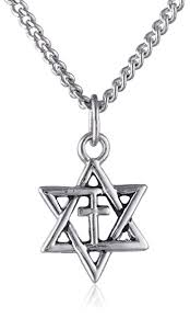 cross necklace from sears sears online in store amazon com star of david with cross pendant necklace jewelry