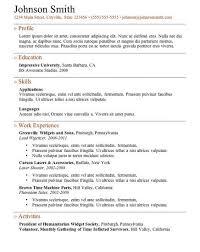 Free Online Job Resume by 461 Best Job Resume Samples Images On Pinterest Job Resume