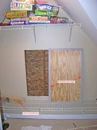 how to make a drywall access panel out of plywood part 2