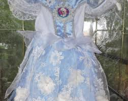 Snowflake Halloween Costume Frozen Elsa Dress Etsy