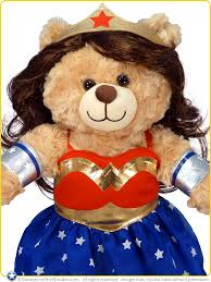 build a teddy build a workshop dc comics happy hugs teddy in woman