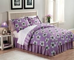 Purple Girls Bedding by Cool Bedding Sets For Teenage Girls With Vase Of Purple Flowers