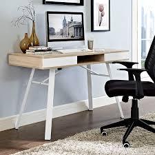 Modern Oak Desk Modern Desks Solstice Oak Desk Eurway Furniture