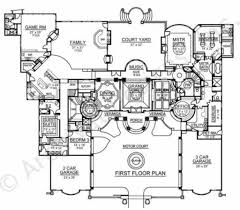 House Plans Mediterranean 100 Mediterranean Floor Plans With Courtyard Best 25 Narrow