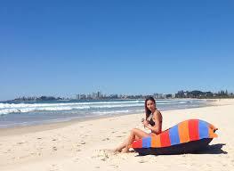 big bright outdoor beach cushion bean bag sandusa waterproof