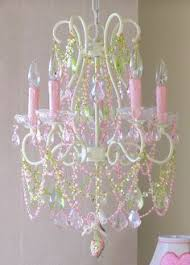 Little Girls Chandeliers Lavish Pink And Clear Crystal Chandelier Vintage To Shabby