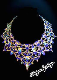 swarovski crystal necklace design images 118 best ballroom jewelry swarovski crystal necklaces images on jpg