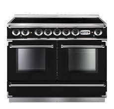 Smeg 110 Gloss Black Induction Rangecooker Showroom Continental Range Cooker