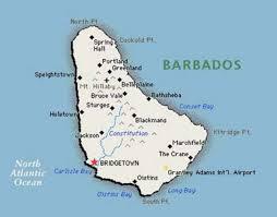map usa barbados bim caribbean dictionary
