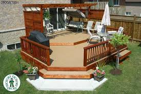Small Backyard Deck Patio Ideas Decking Layout Ideas This Deck Plan Is For A Medium Size Two