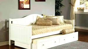 White Daybed With Storage Size Daybed With Storage Drawers Daybed With Storage