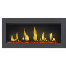 napoleon vector 38 built in direct vent propane gas fireplace w