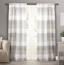 Spencer Home Decor Window Panels by Amazon Com Exclusive Home Curtains Bern Rod Pocket Window Curtain