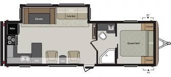 Springdale Rv Floor Plans 2016 Keystone Springdale West 293rkwe Travel Trailer Aloha Or