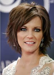 short layered layered hair cut for women over 50 pictures short layered hairstyles with bangs popular haircuts