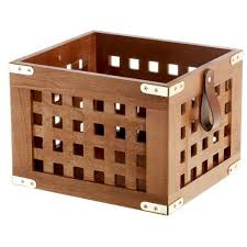 Gift Baskets For College Students Lattice Wood Storage Crate Gifts For College Students Popsugar