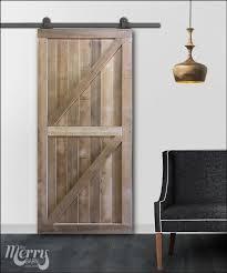 panel series framed double z barn door