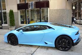 Lamborghini Huracan Blue - 2016 lamborghini huracan stock 03964 for sale near chicago il