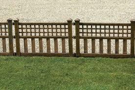 decorative garden fencing metal fence ideas fascinate