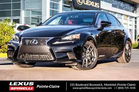 white lexus is 250 2014 lexus dealership in montreal west island spinelli lexus pointe