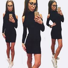 womens dressy jumpsuit autumn style black tie rompers jumpsuit bodycon sleeve