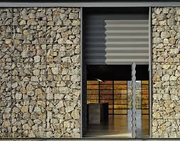 gabion walls and their role in contemporary architecture