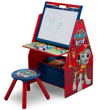 delta children nick jr paw patrol activity center easel art desk