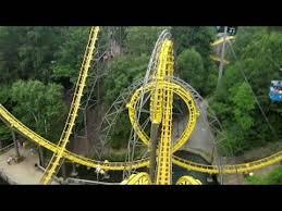Busch Gardens Williamsburg New Ride by Loch Ness Monster Front Seat On Ride Widescreen Pov Busch Gardens