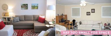 How High To Hang Pictures How To Hang Art Correctly Emily Henderson