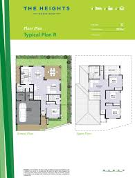 Double Story Floor Plans New Homes Stage 1 Release