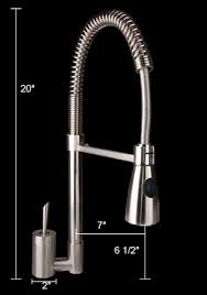 Brushed Nickel Single Handle Kitchen Faucet by Pull Out Single Handle Kitchen Faucet U2013 With Dual Sprayer Km400
