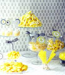 31 baby shower decorating ideas with gray u0026 yellow theme