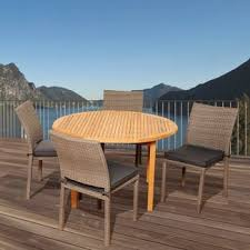 Target Teak Outdoor Furniture by Teak Patio Dining Sets Target
